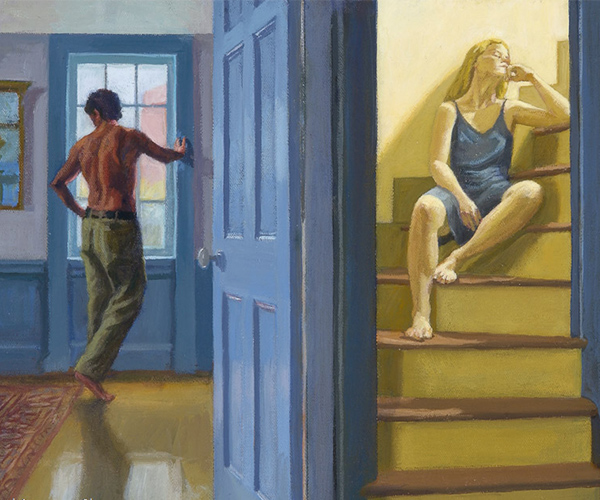 figurative paintings gallery - Drawn to Light
