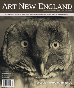 Art New England magazine cover