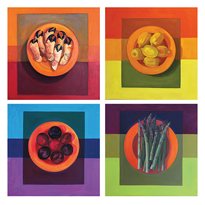 abstract paintings - Complementary Palate